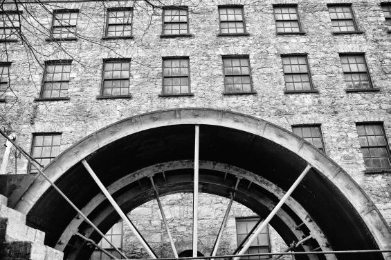 Old Midleton water wheel