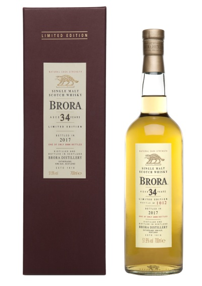 Brora 34 Special Releases 2017