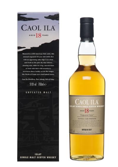 Caol Ila 18 Special Releases 2017