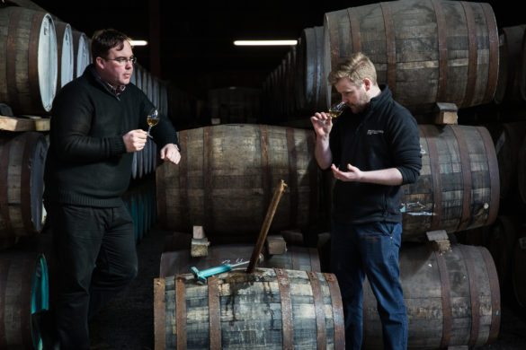 Distillery Manager Allan Logan and Head Distiller Adam Hannett