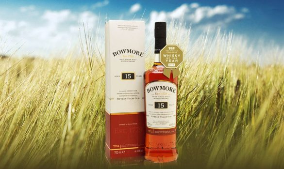 Whisky of the Year – Bowmore 15 Year Old