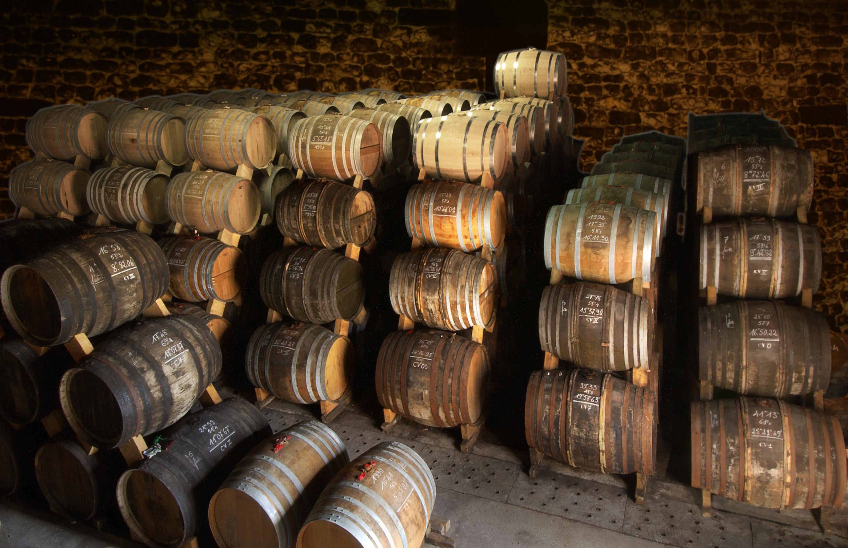 Courvoisier cellars