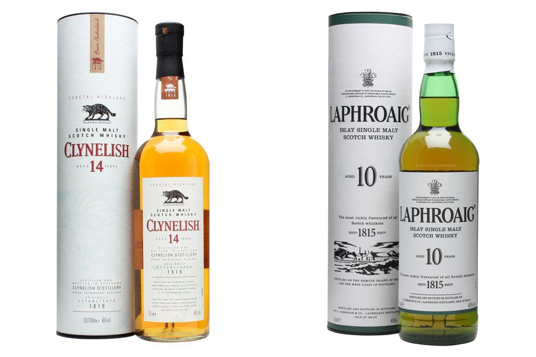 Clynelish and Laphroaig