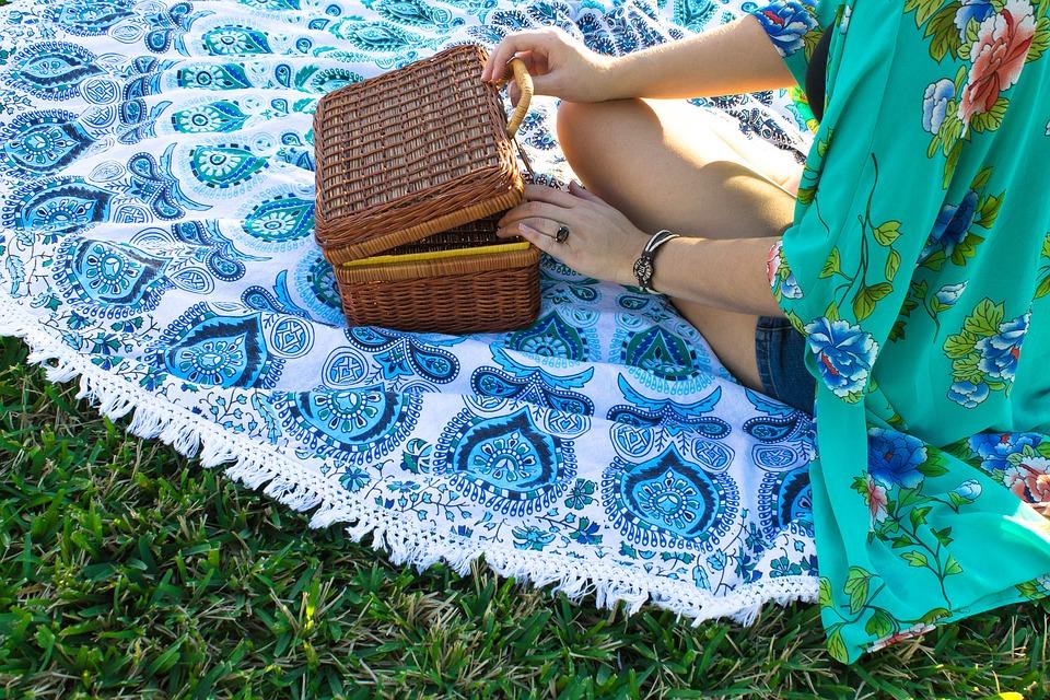 An elegant picnic