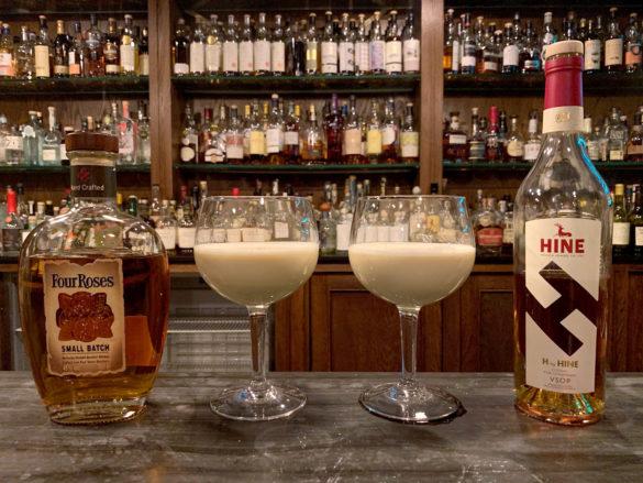 Eggnog - bourbon vs Cognac