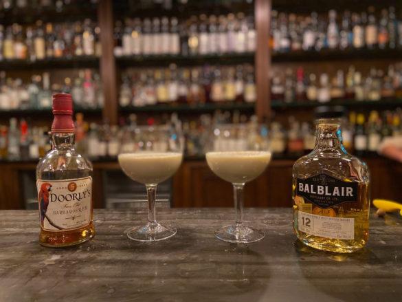 Eggnog - rum vs single malt