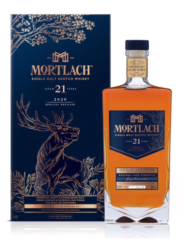 Mortlach 21 Year Old Diageo Special Releases 2020